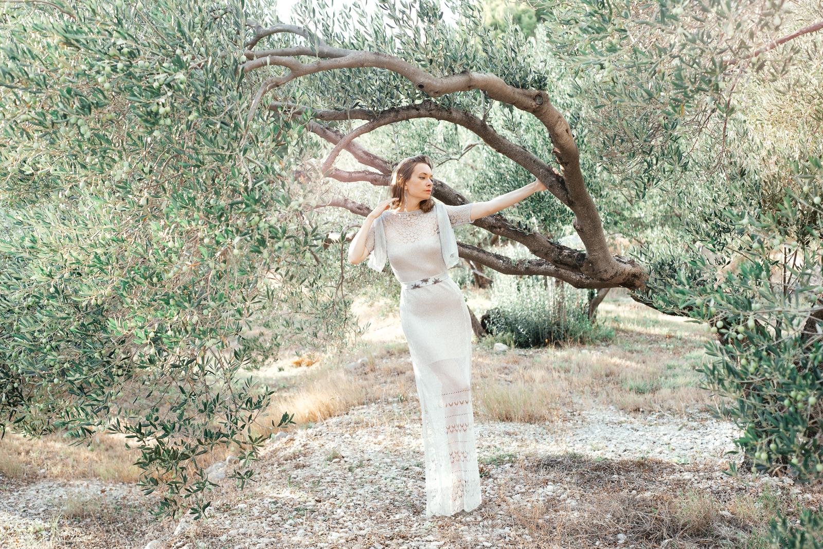 дизайнер одежды вязаное свадебное платье