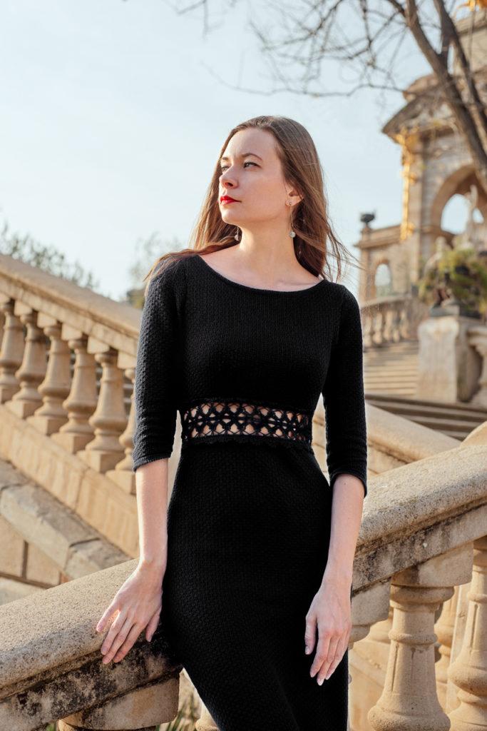дизайнерское платье из новой коллекции барселона модная съемка за границей кружево ручной работы катерина кулида эксклюзивное платье купить в интернете